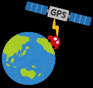 GPSの電源は必ず入れましょう。