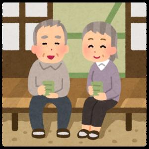 ポスティング中にねぎらいの声をかけてくれる老夫婦